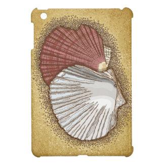 Scallop shells iPad mini covers