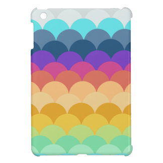 SCALLOPED COLORFUL IPAD MINI CASE