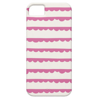 Scalloped Phone Case - Mulberry iPhone 5 Case