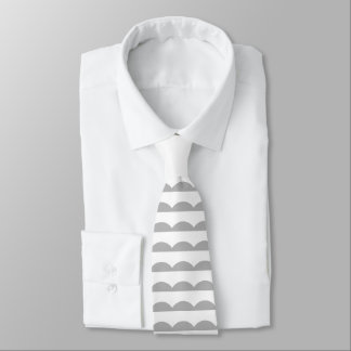 Scalloped Stripes Tie