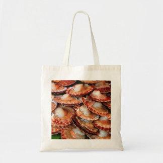 Scallops Budget Tote Bag