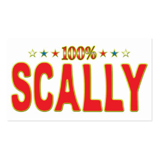 Scally Star Tag Business Cards