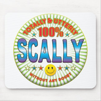 Scally Totally Mousemat