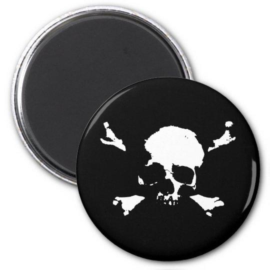 Scallywag 6 Cm Round Magnet