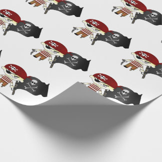 Scallywag Pirate KIDS Wrapping Paper