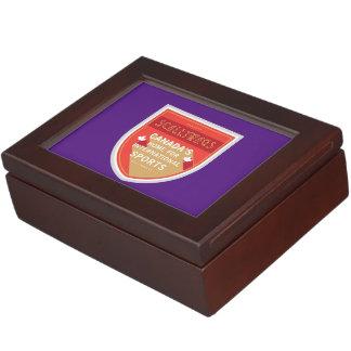 Scallywags Sports Crest Keepsake Box