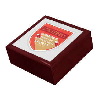 Scallywags Sports Crest Large Square Gift Box