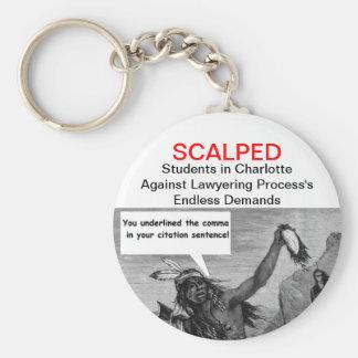 SCALPED key chain