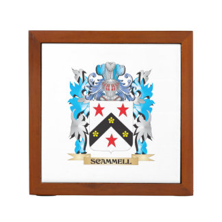 Scammell Coat of Arms - Family Crest Pencil Holder