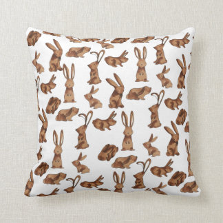 Scampering Rabbits Cushion