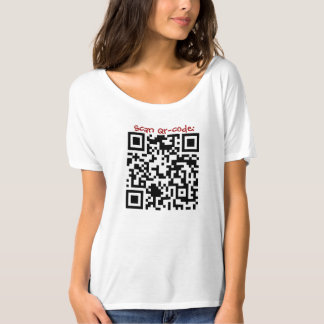 Scan QR-Code  Bella Flowy Simple T-Shirt