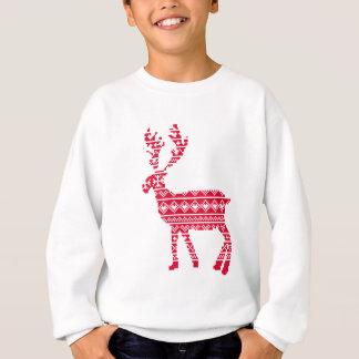 Scandi reindeer sweatshirt