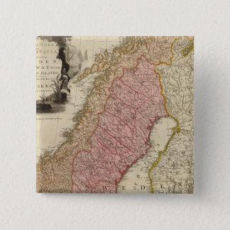 Scandia, Scandinavia 15 Cm Square Badge