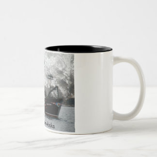 Scandies Rose Crab Boat in Dutch Harbor Alaska Coffee Mug