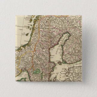 Scandinavia 15 Cm Square Badge