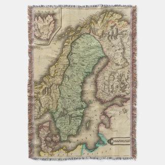Scandinavia 3 throw blanket