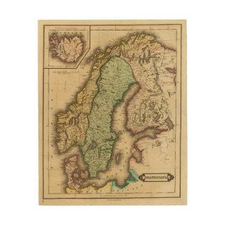 Scandinavia 3 wood print