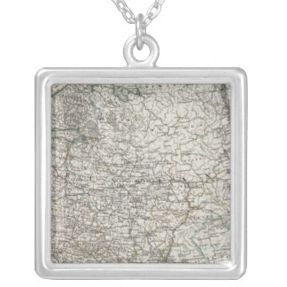 Scandinavia and Russia Square Pendant Necklace