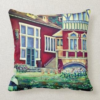 Scandinavia  - realism landscape cushion