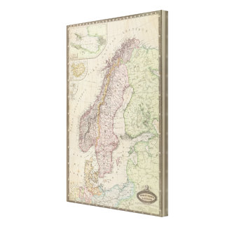 Scandinavia, Sweden Canvas Print