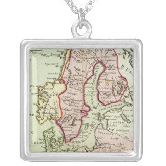 Scandinavia, Sweden, Denmark Silver Plated Necklace