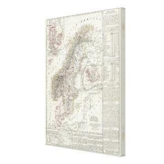 Scandinavia, Sweden, Norway Canvas Print