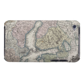 Scandinavian Antique Map Barely There iPod Case