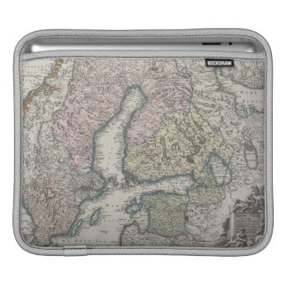 Scandinavian Antique Map iPad Sleeve