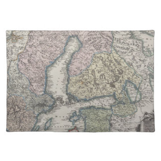 Scandinavian Antique Map Placemat
