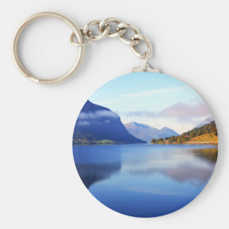 Scandinavian beauty basic round button key ring