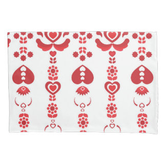 Scandinavian Christmas Pattern Pillowcase