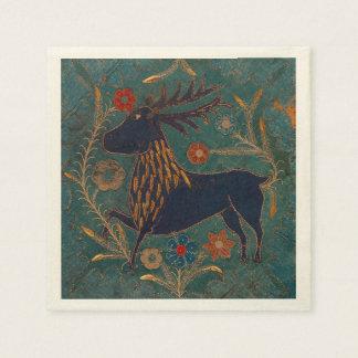 Scandinavian Deer Paper Napkin