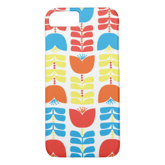 Scandinavian flowers iPhone 8/7 case