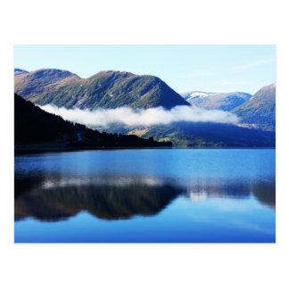 Scandinavian mountains, The North sea, taken in Se Postcard