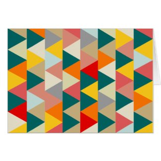 Scandinavian Style Geometric Triangles