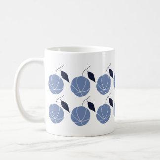 Scandinavian Style Pumpkin Print Coffee Mug