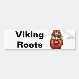 Scandinavian Viking Roots Bumper Sticker