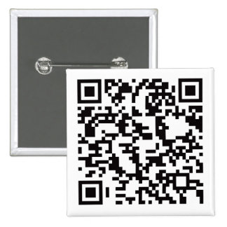 Scannable QR Bar code 15 Cm Square Badge