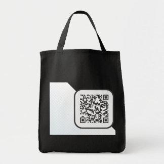 Scannable QR Bar code Bags
