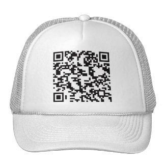 Scannable QR Bar code Cap
