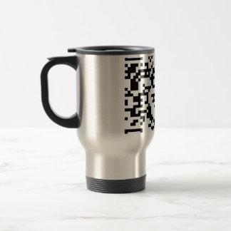 Scannable QR Bar code Coffee Mugs