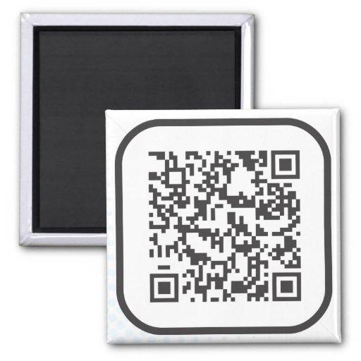 Scannable QR Bar code Magnets
