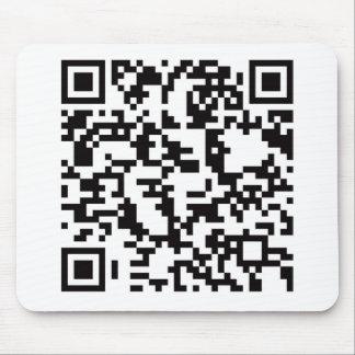Scannable QR Bar code Mousepads