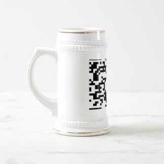 Scannable QR Bar code Mugs
