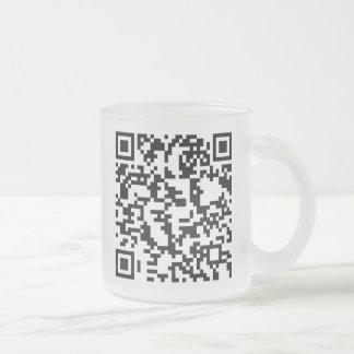 Scannable QR Bar code Mug
