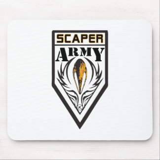Scaper Army Mouse Pad