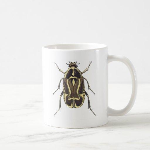 Scarab Beetle Basic White Mug