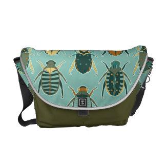 Scarab Beetles Messenger Bags