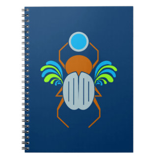 Scarab custom notebook