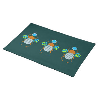 Scarab custom placemats